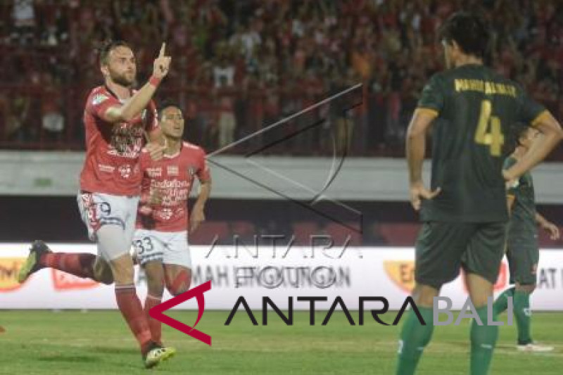 Bali United lawan PS Tira skor 1-1 (video)