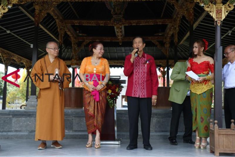 Bali dipilih jadi pusat pertukaran budaya Buddha Tiongkok-Indonesia