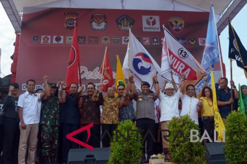 Bali deklarasi damai jelang pilpres