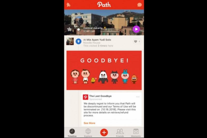 Layanan Path akan ditutup tahun ini