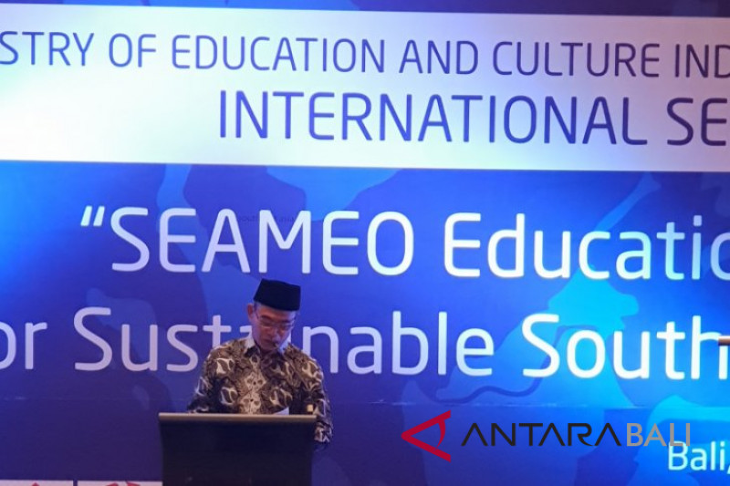 SEAMEO seminar discusses seven priority areas in Bali