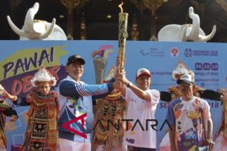 Social Minister, Bali Governor open Asian Para Games relay