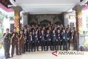 Puluhan calon Kajari kunjungi Kantor Kajari Gianyar
