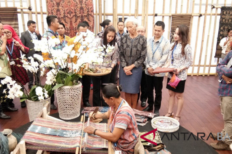 Sarinah sees turnover of hundreds of millions of rupiahs in Indonesia Pavilion