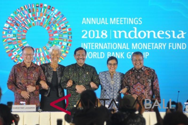 Memori tak terlupakan pertemuan IMF-WB di Bali