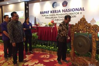 Rakernas Forum Warek II PTN se-Indonesia cari pencegahan korupsi