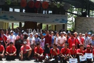 Delegasi IMF-WB lihat Indonesia di Taman Nusa