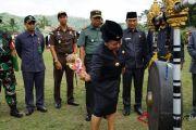 Bupati Karangasem Mas Sumatri buka TMMD ke-103 tahun 2018