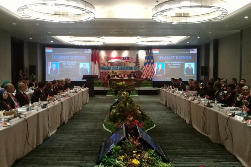 Indonesia-Malaysia bahas perbatasan dalam sidang GBC di Bali