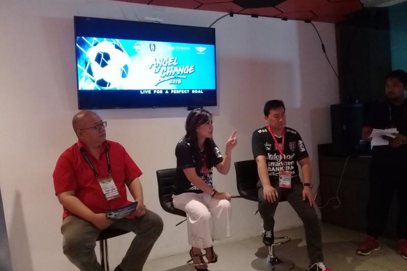 YCAB-Bali United dukung pendidikan anak pra-sejahtera lewat sepak bola