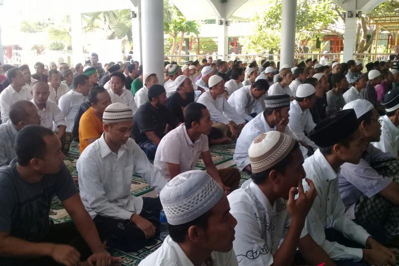 Ratusan Warga Binaan LP Kerobokan Denpasar rayakan Maulid Nabi