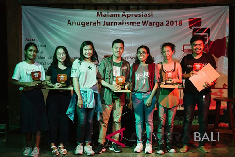 Lima milenial terima beasiswa Anugerah Jurnalisme Warga
