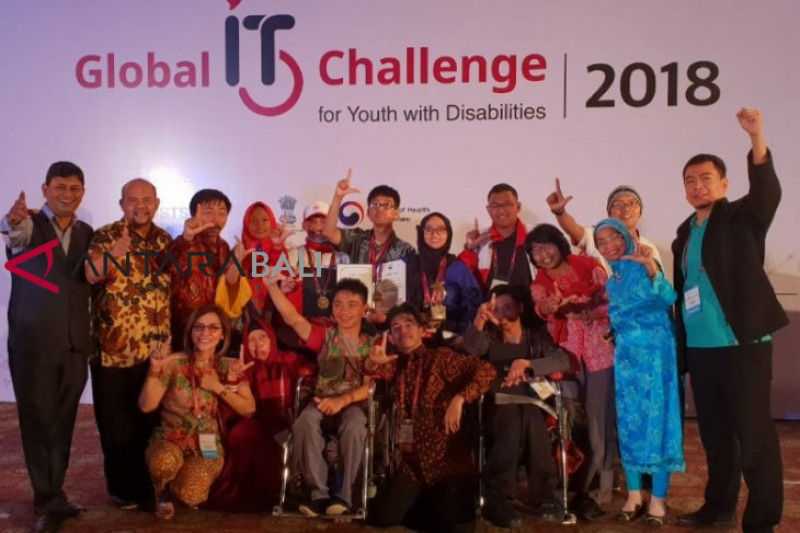 Indonesia juara umum kompetisi IT global di India