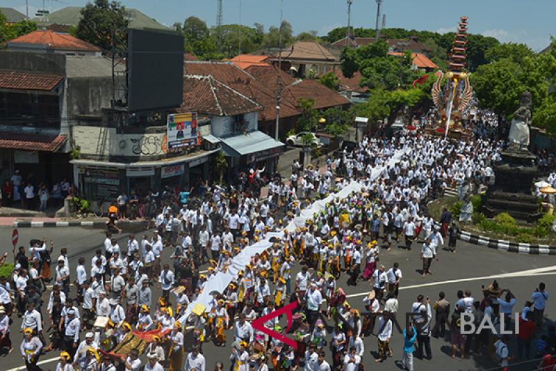 Ngaben akbar Puri Denpasar