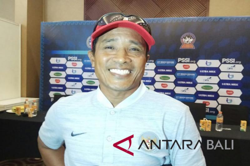Tim sepak bola pantai Indonesia, Dewa Dwipayudha alami cedera