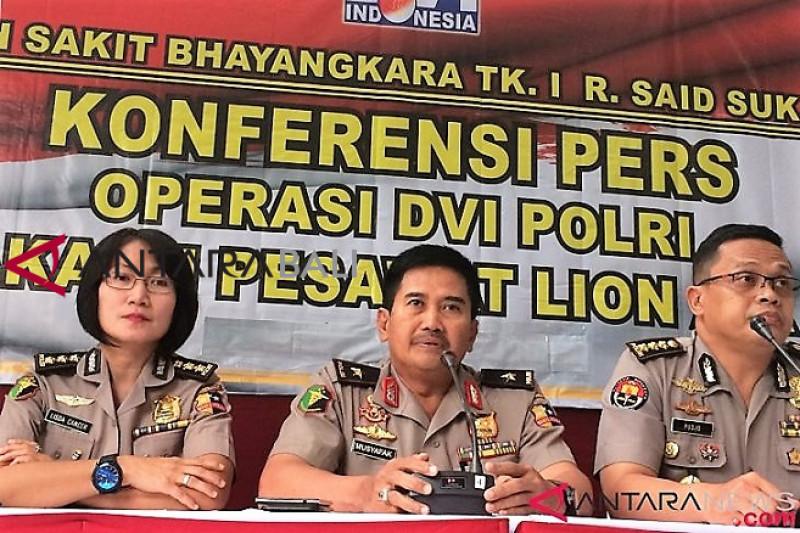 Polri akui banyak kendala identifikasi korban JT 610