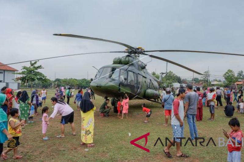 Helikopter mendarat darurat