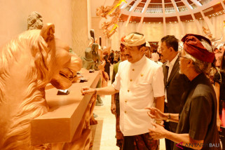 Wagub Bali patung Naga Sanga Awurwabhumi itu destinasi berkualitas
