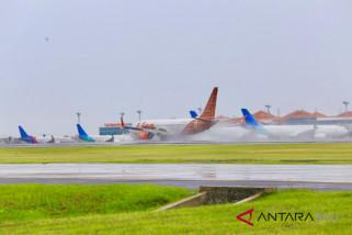 Musim hujan, Bandara Bali tingkatkan inspeksi landasan pacu
