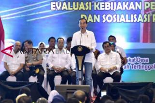 Presiden Jokowi paparkan perjalanan empat tahun membangun fondasi ekonomi