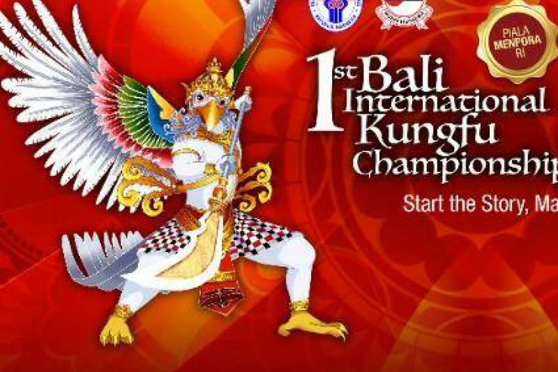 Grandmaster Samuel Kwok semangati peserta Kejuaraan Kungfu Internasional Bali Terbuka