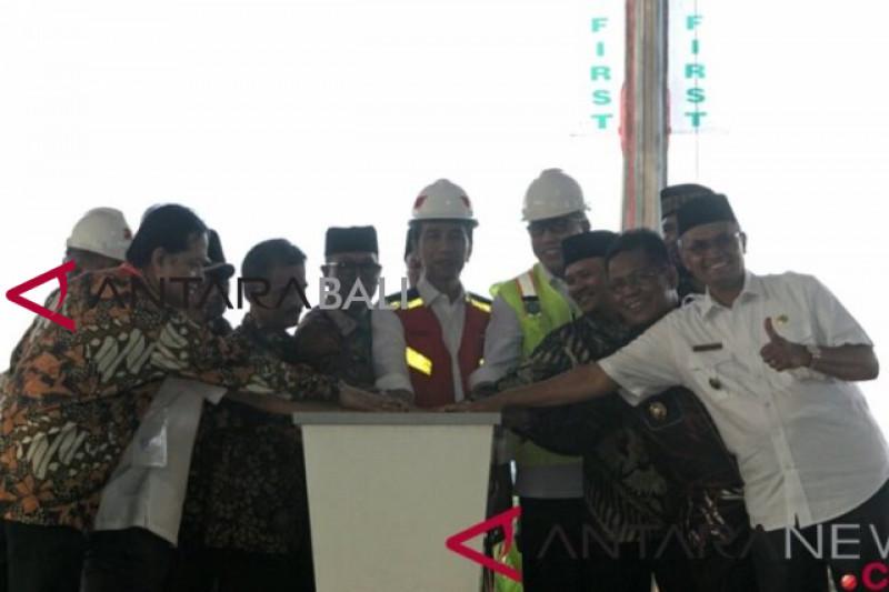 Rakyat Aceh nikmati jalan tol setelah Presiden resmikan Tol Banda Aceh-Sigli