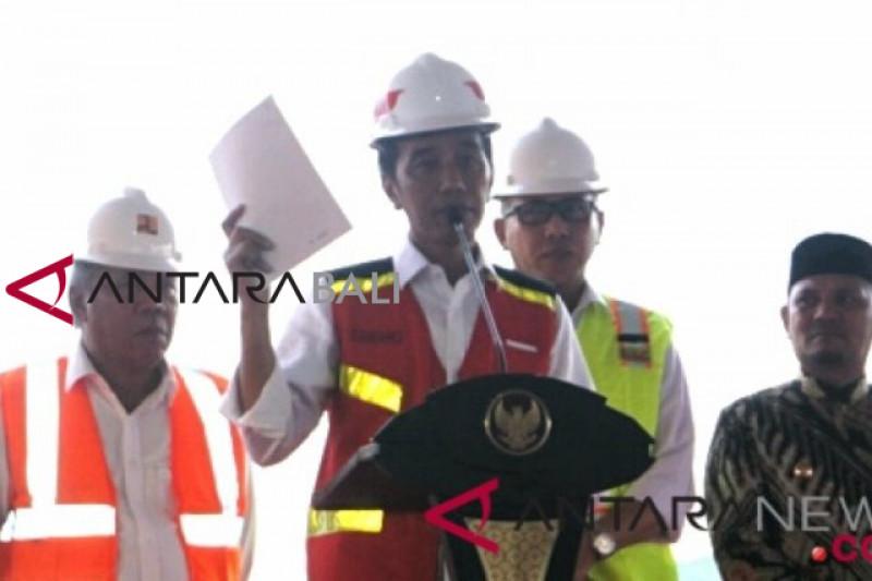 Presiden : Tol Lampung-Aceh tersambung 2024
