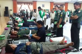 Kodam IX/Udayana laksanakan donor darah