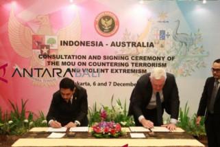 Indonesia-Australia perpanjang kerja sama penanggulangan terorisme