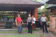Kapolsek Denpasar Barat temui tokoh Puri Ageng Jero Kuta