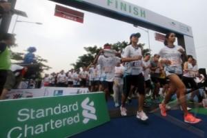 Stadard Chartered  Half Marathon Diikuti 3000 Pelari