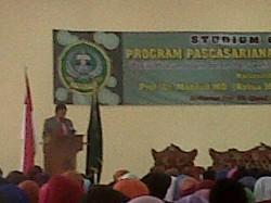 Mahfud Kuliah Umum 'Hukum Islam' Di Banten