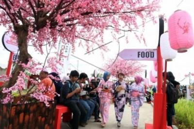 Lippo Cikarang Gelar Festival Budaya Sakura Matsuri