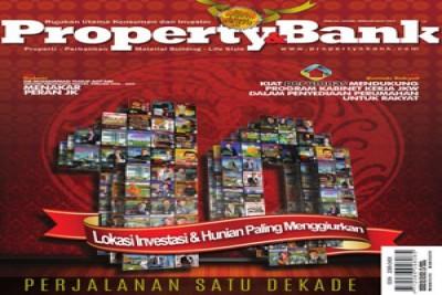Properti&Bank Serahkan Penghargaan Pengembang dan Bank Berprestasi