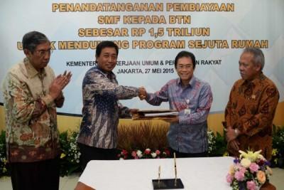 BTN Mendapat Pinjaman Rp1,5 Triliun dari SMF