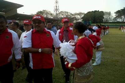 Plt Gubernur Lepas Tim 'Gita Surosowan' Ke Amerika Serikat