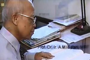 Mantan Rektor IPB AM Satari Tutup Usia