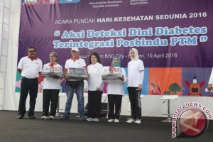 Gubernur Banten Ajak Masyarakat Cegah Dini Diabetes