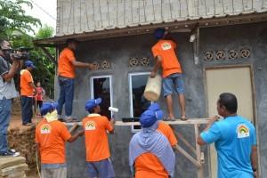 Nippon Paint Bantu Bangun 100 Rumah
