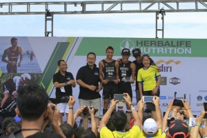 Indonesia Sabet Herbalife Bali International Triathlon 2016