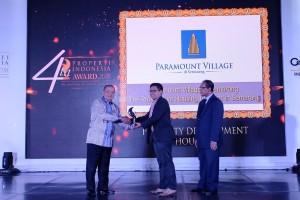 Paramount Land Raih Dua Penghargaan Properti