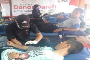 Alfamart Dukung Aksi Donor Darah di Lebak