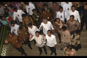 Kunjungan Presiden ke Tanah Abang Gairahkan Pedagang
