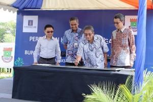 Paramount dan Pemkab Tangerang Resmikan Hutan Kota