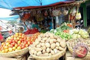 Pasokan Kurang Harga Sayuran Masih Tinggi