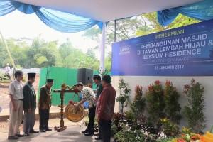 Lippo Cikarang Resmikan Pembangunan Dua Masjid