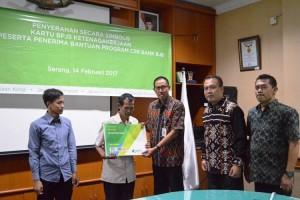 BJB Bantu 20.000 Peserta BPJS Ketenagakerjaan Banten