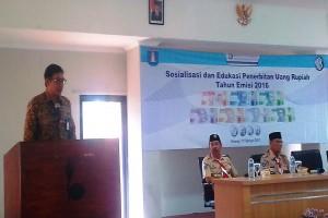BI Banten Kumpulkan Pramuka Sosialisasikan Uang Baru