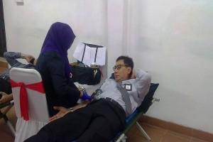 BI Banten Semarakkan HPN Gelar Donor Darah