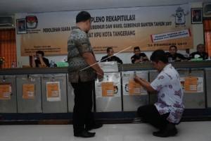 1.300 Personil Amankan Kantor KPU - Panwaslu Tangerang